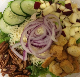 Bryan's Romaine Chicken Bomb Salad